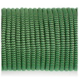 Paracord Type III 550, black green wave #132