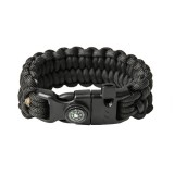 "Bracelet ""Loops"" Survival, Black"