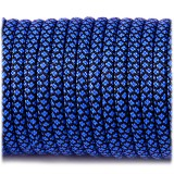 Paracord Type III 550, blue snake #268 (016+001)