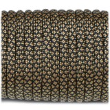 Paracord Type III 550, coyote brown snake #310 (016+012)