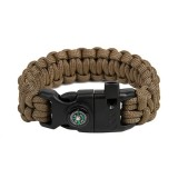 "Bracelet ""Cobra"" Survival, Coyote Brown"