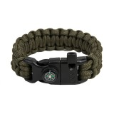 "Bracelet ""Cobra"" Survival, Army green"