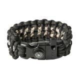 "Bracelet ""Nuts"" Survival, Black"