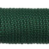 Paracord Type III 550, dark emerald green snake #415 (016+022)