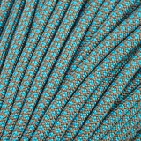 Paracord Type III 550, Blue copper snake #430 (050+015)