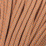 Paracord reflective 50/50, reflective snake apricot #r16085-S