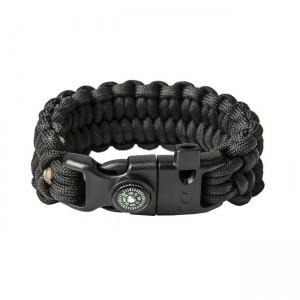 """Bracelet """"Loops"""" Survival, Black"""
