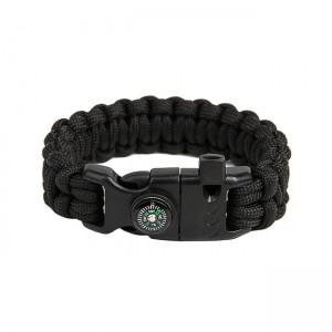 """Bracelet """"Cobra"""" Survival, Black"""