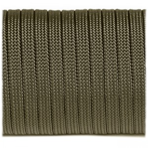 Coreless Paracord, army green #010