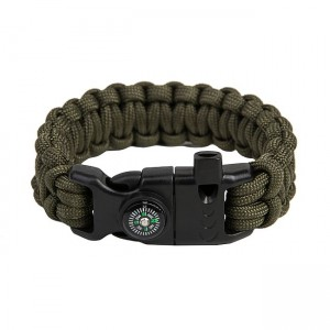 "Bracelet ""Cobra"" Survival, Army green"