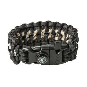 "Bracelet ""Nuts"" Survival, Black"