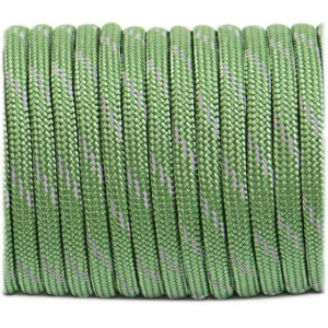 Paracord reflective, moss #r3331