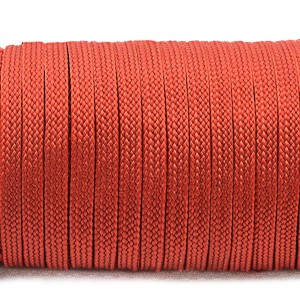 Coreless Paracord, red #021F