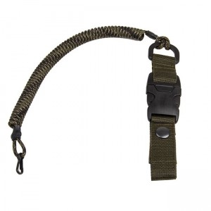 Safety cord with quick-release fastening, veteran