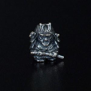 """Bead """"Samurai"""" silver"""