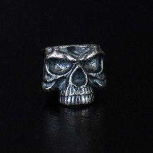 """Bead """"Skull"""" silver"""
