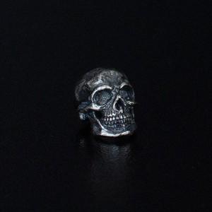 """Bead """"Skull M"""" silver"""