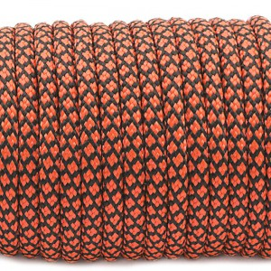 Paracord Type III 550, sofit  orange snake #293 (016+345)