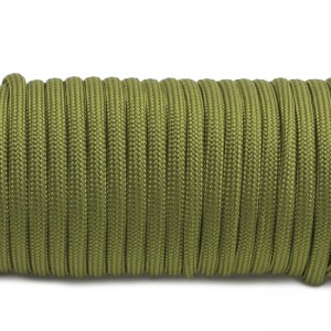 Paracord Type III 550, Green pepper #354