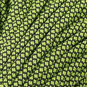 Paracord Type III 550, neon green snake (016+017) #091