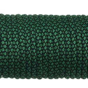 Paracord Type III 550, dark emerald green snake #415 (016+022)