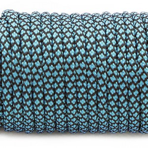 Paracord Type III 550, ice-mint snake #295 (016+049)