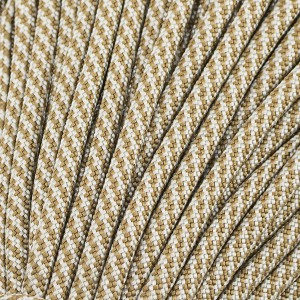 Paracord Type III 550, coyote silver twist #422 (012+002)